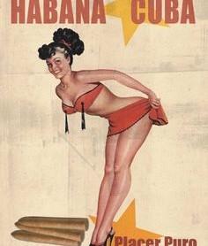 Cubansk kvinde, havana, placer puru