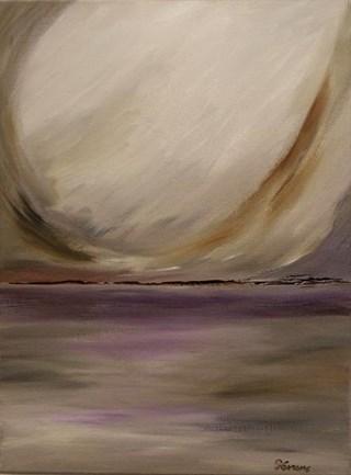 Circle of light - maleri akryl