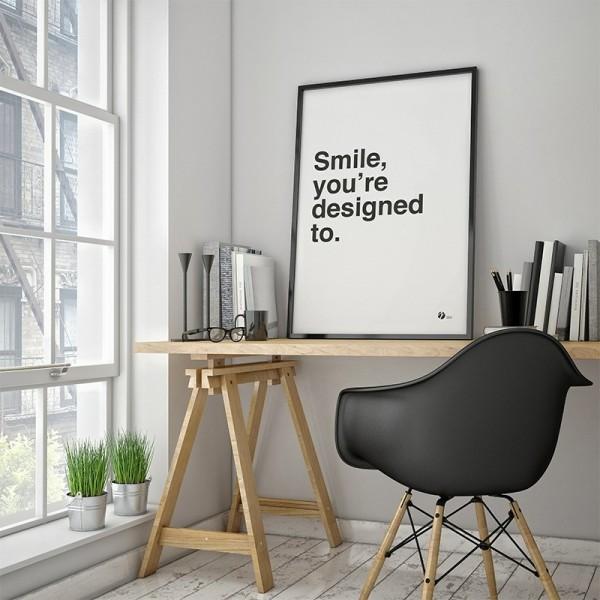 by_krohn_plakat_smile__you_re_designed_to.jpg