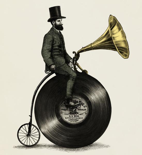 Musicman-vinyl-bike-society6