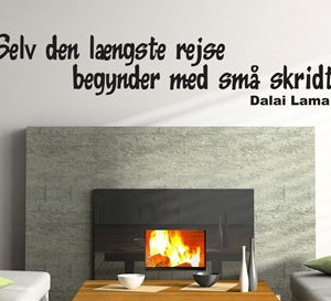 Wallsticker - citater og tekst