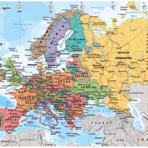 kort-over-europa