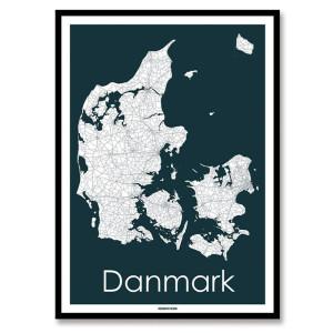 Landkort, bykort & verdenskort