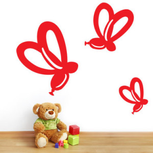 Toys - Teddy bear with cubes on laminate floor